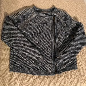 Genuine kids Osk Kosh Blue Knit MOTO Jacket 5T